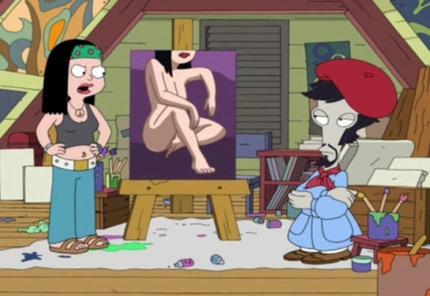 Naked american dad keep